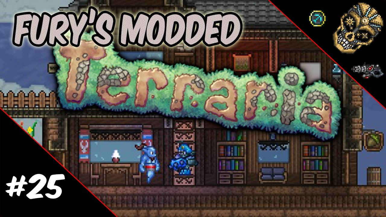 Fury S Modded Terraria Episode 24 The Aquatic Depths And Hellbound By Furyforged