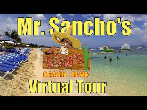 Tour Of Mr. Sanchos Beach Club In Cozumel Mexico