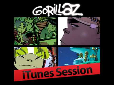 Gorillaz - Clint Eastwood (iTunes Session)