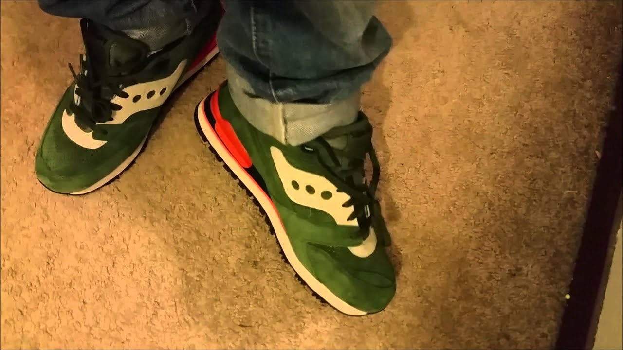 4067e56463a76 Saucony Courageous Premium Unboxing + ON FEET! - YouTube