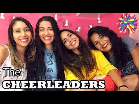 THE CHEERLEADERS : DUBLADORAS RESPONDENDO PERGUNTAS! RACHEL, VALENTINA, ELISA E SOPHIA!