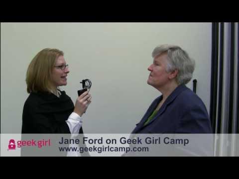 Jane Ford Loved Geek Girl Camp - Cape Cod
