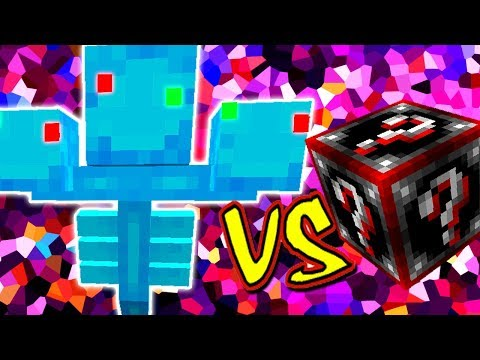WITHER NATALINO VS. LUCKY BLOCK DOOM (MINECRAFT LUCKY BLOCK CHALLENGE XMAS WITHER)
