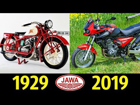 Jawa - Эволюция (1929 - 2019) ! История модели !
