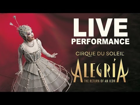 Alegría | Very Special PERFORMANCE! We're Celebrating the Return of An ICONIC Cirque du Soleil Show.