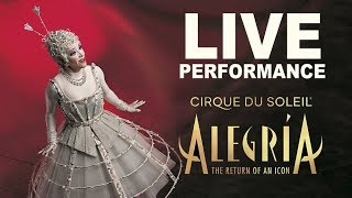 Alegría   Very Special PERFORMANCE! We're Celebrating the Return of An ICONIC Cirque du Soleil Show.