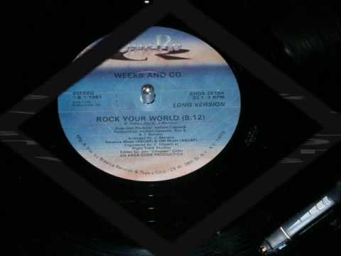Weeks & Co. Rock Your World (Disco-Funk Vinyl) Full Version HD !