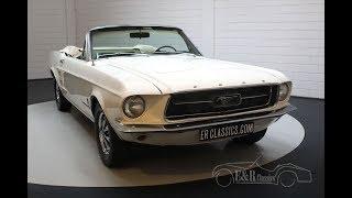 Ford Mustang V8 Cabriolet 1967 -VIDEO- www.ERclassics.com