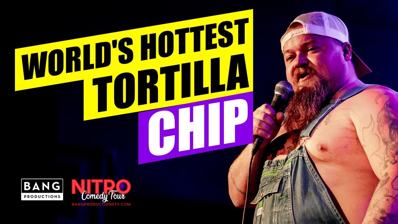 COMEDIAN CATFISH COOLEY: WORLD'S HOTTEST TORTILLA CHIP - #ONECHIPCHALLENGE COMEDY FUNNY