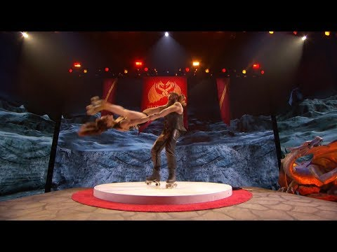 America's Got Talent 2017 Semi-Finals Billy & Emily England Performance & Comments S12E19