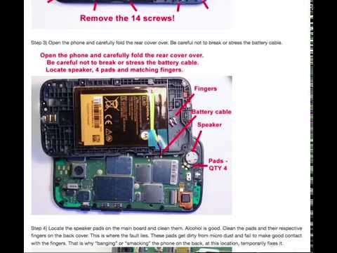 No sound on Moto E phone... the hardware fix.