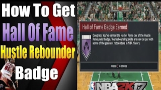 hall of fame hustle rebounder exact numbers nba 2k17