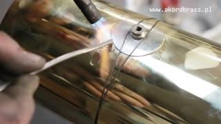 Remont kapitalny tuby AMATI w Serwisie AKORDBRASS