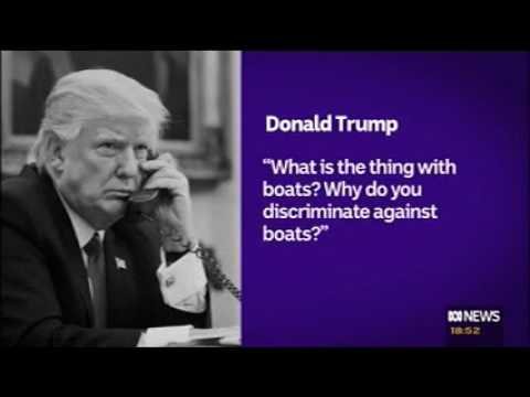 Australian TV on Trump transcript