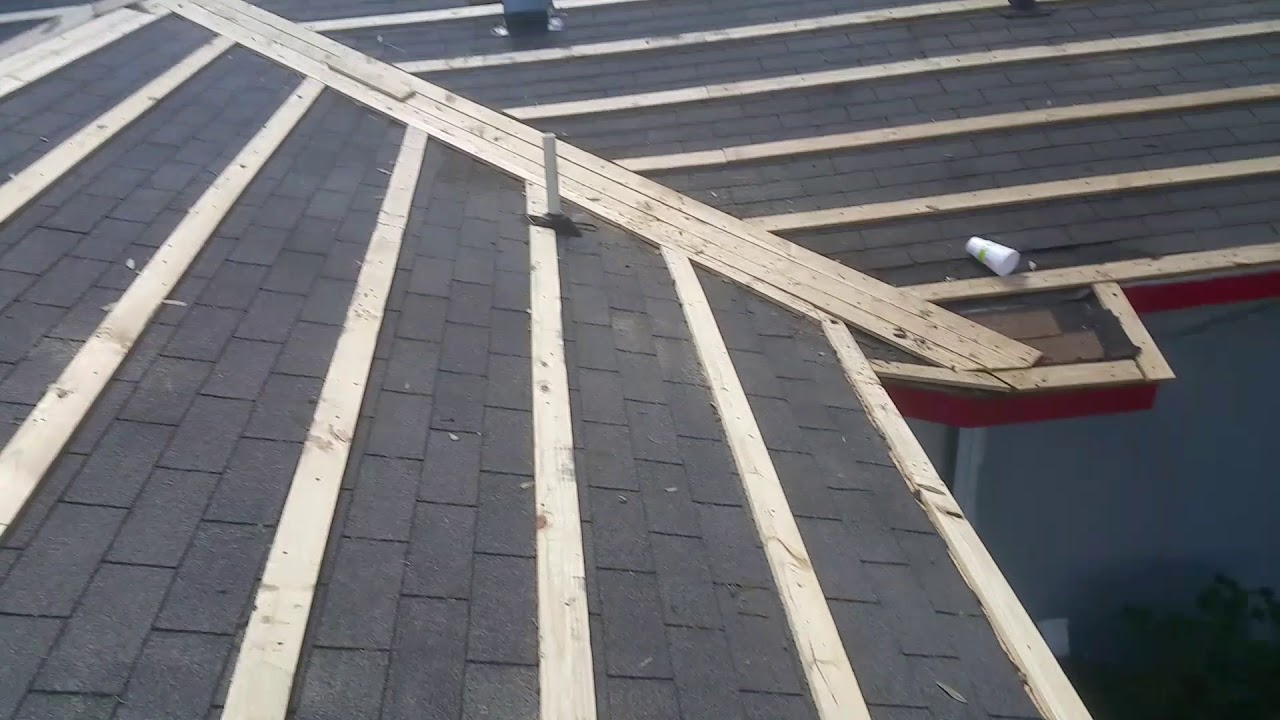 1 4 Layout For Metal Roof Youtube