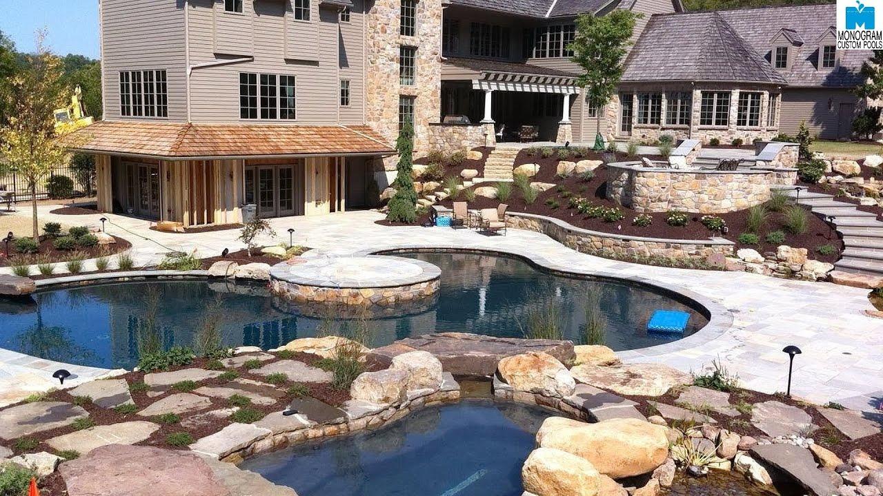 1 inground pool builders in lehigh valley pa monogram custom pools youtube