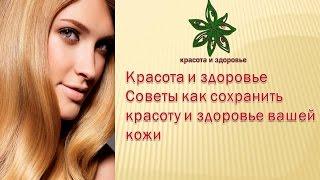 Красота и здоровье Советы как сохранить красоту и здоровье вашей кожи