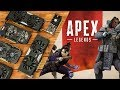 Apex Legends Benchmarks with Budget Graphics Cards