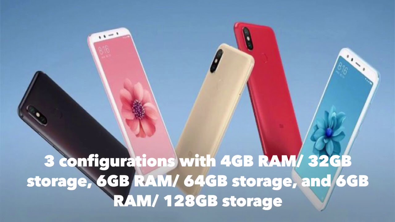 e1951b5010d Upcoming xiaomi Mi6x main features and release date - YouTube