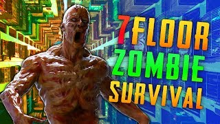 7 FLOOR ZOMBIE SURVIVAL (Call of Duty Zombies)
