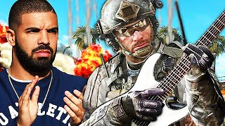 playing guitar on call of duty insane guitar player plays black ops 2