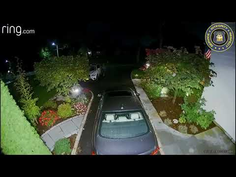 Video: Security Camera Captures Man Trying To Get Into Cars In Westchester