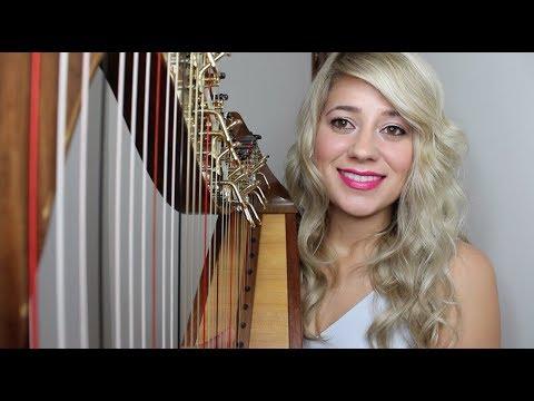 Perfect - Ed Sheeran (Harp Cover)