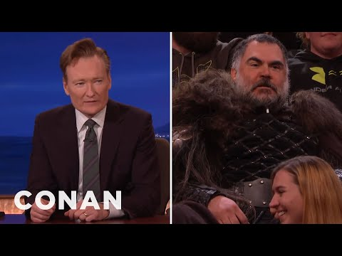 Conan Wasn't Ready For This TV Show Superfan  - CONAN on TBS