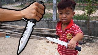 TXT - Chế Tạo Knife Huyền Thoại Trong Đột Kích : M9 Bayonet - Knife Making