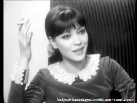RARE anna karina , 1965.