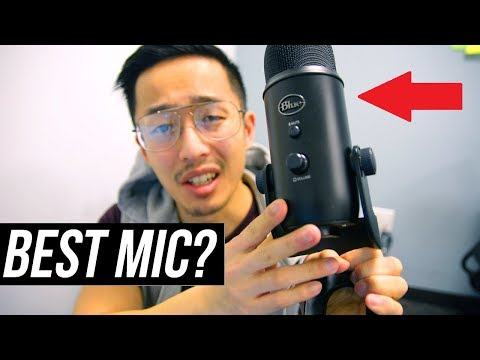 BEST USB Microphone For YouTube Studios? (Blue Yeti Microphone TEST & Review)