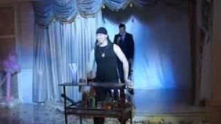 Бармен-шоу на свадьбу..... Фаер