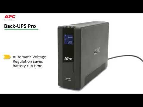 APC2001 - APC® Back-UPS BX1500G Power Saving Back-UPS w/ PowerChute™  Software