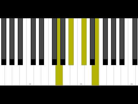 G Dim7 Piano Chord Youtube
