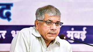 एमआयएम सोबतची युती तुटल्याच बिलकुल दुःख नाही : प्रकाश आंबेडकर Sharvari Pawar Director