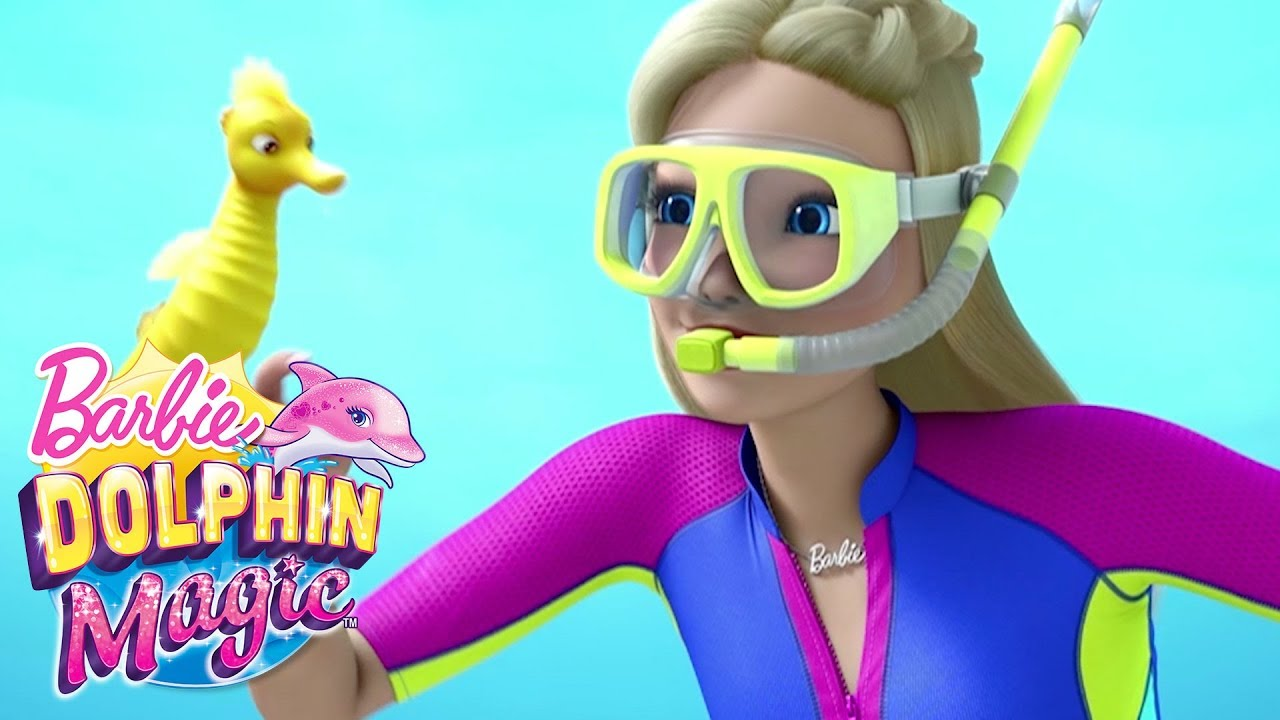 Treasure Official Music Video Dolphin Magic Barbie Youtube
