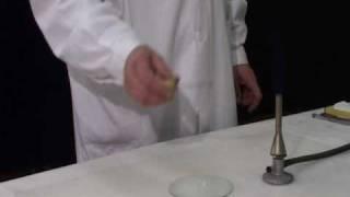 Обнаружение галогенов в органических соединениях