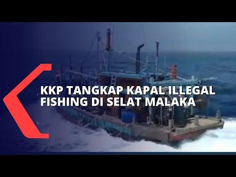 Download Ilegal Fishing! KKP Tangkap Empat Nelayan Myanmar di Perairan Selat Malaka
