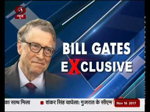FULL INTERVIEW: Exclusive conversation with Microsoft co-founder Bill Gates