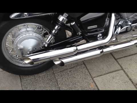 Honda Shadow VT 750 C2 Spirit with Vance & Hines Cruzers