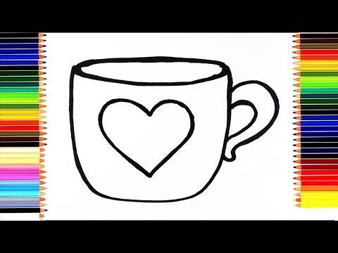 Как нарисовать чашки