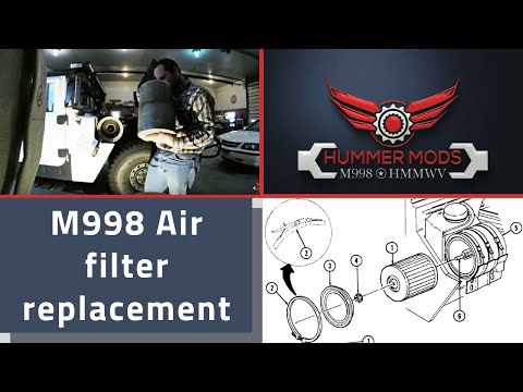 HMMWV M1038 Air Cleaner Filter Replacement W250D54, Speed