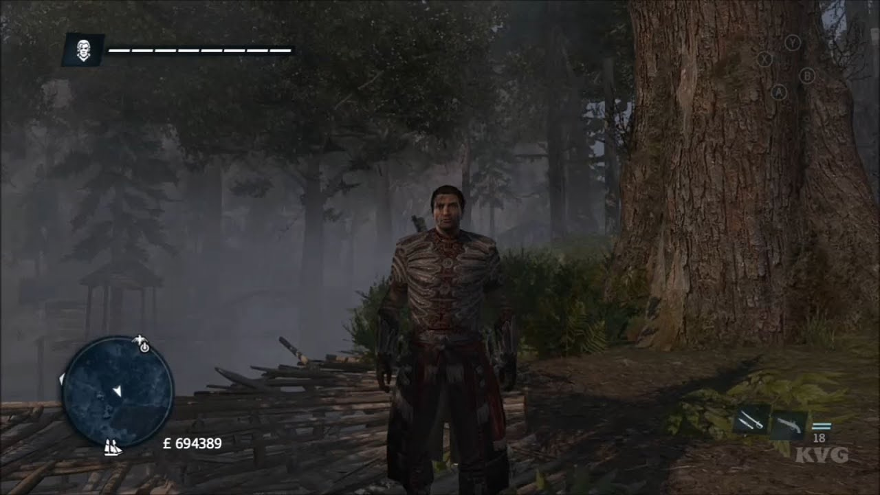 assassins creed rogue native armor outfit location