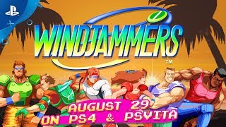 Windjammers – Characters Trailer | PS4, PS Vita