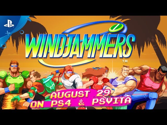 Windjammers - Characters Trailer | PS4, PS Vita