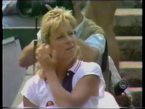 1989 Wimbledon Semi-FInal Steffi Graf vs Chris Evert Part 1