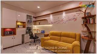 4 BHK Interior Designing at Kasturi Epitome in Pune , Wakad  | Kams Designer Zone