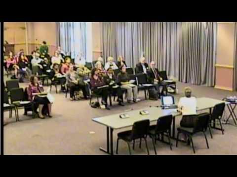 Dr. Linda Altenhoff Presents at Dental Stakeholder Meeting