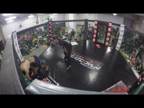 Ultimate Beatdown 21:Amateur MMA 74kg catchweight  HISYAM VS JOHNNY LIM
