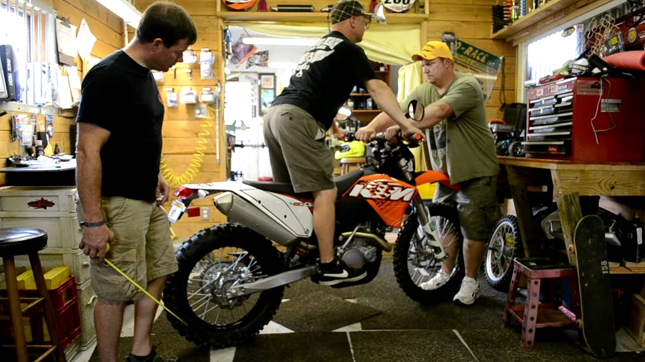 Lowering A  Ktm Xc
